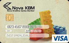 Predplačniška kartica VISA