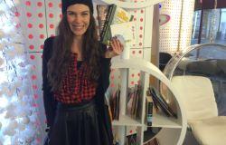 Ula je v poslovalnici Ljubljana center podarila knjige!